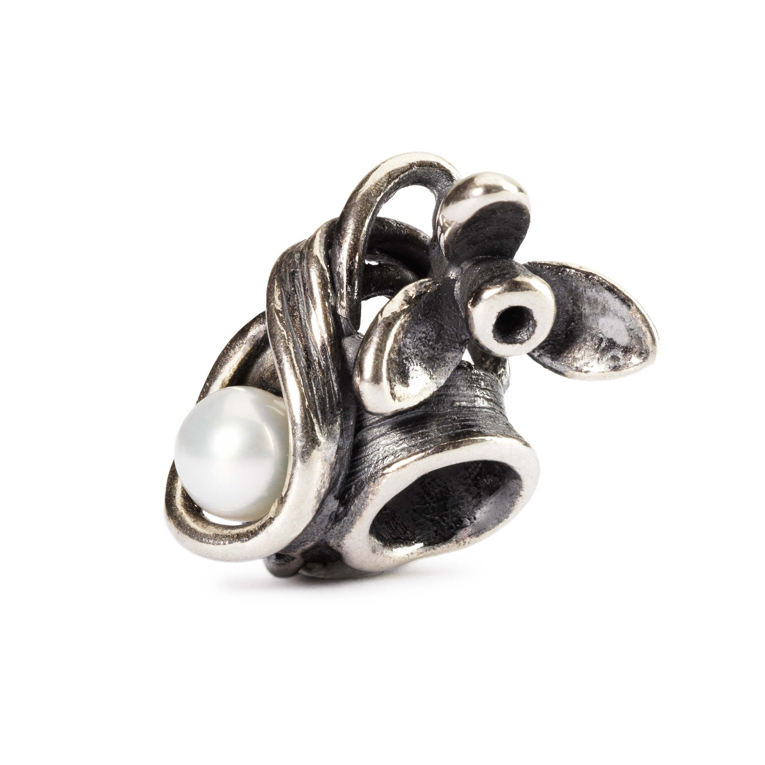 AUTHENTIC TROLLBEADS BOW SPACER TAGBE-30131 STOP FIOCCO